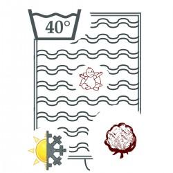 Bettdecke aus Bio-Baumwolle...