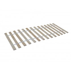 Slatted bed in massive pin...