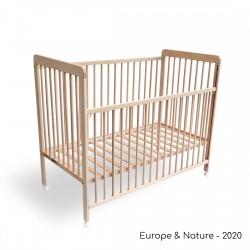 Kinderbett mit Schiebetür-...
