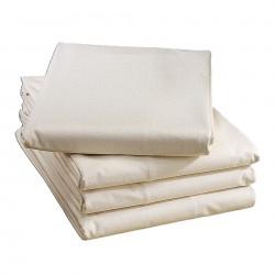 Spannbetttuch aus Leinen