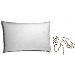 100% horsehair pillow