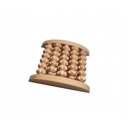 Massage roller for one foot