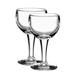 2 French glasses - Bar glasses