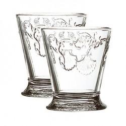 2 water glasses Versailles