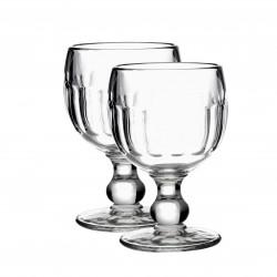 2 wine glasses Coteau