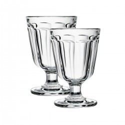 2 wine glasses Anjou