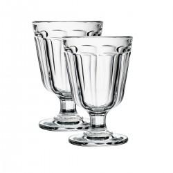 2 water glasses Anjou