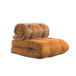 Futon Sessel orange 70