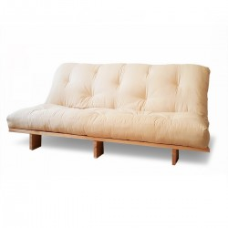 Sofa Couch - Natural -...