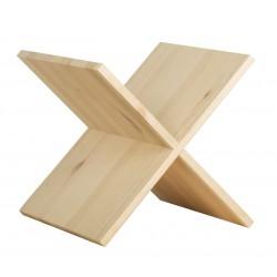 Cross in pine massive wood...