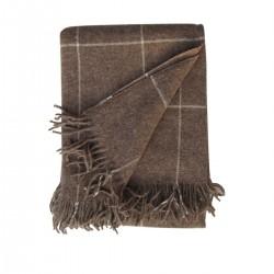 Plaid Alpaca - Wool -...