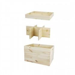 Maxi box with storage