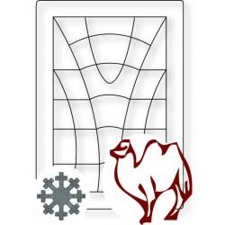Winterbettdecke aus Kamelhaar