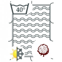 Quilt in Bio Cotton - All...