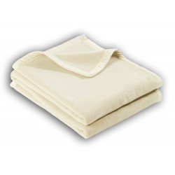 Couverture 100% laine Mérinos
