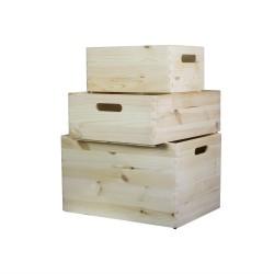 3 Stackable boxes - Kairus...