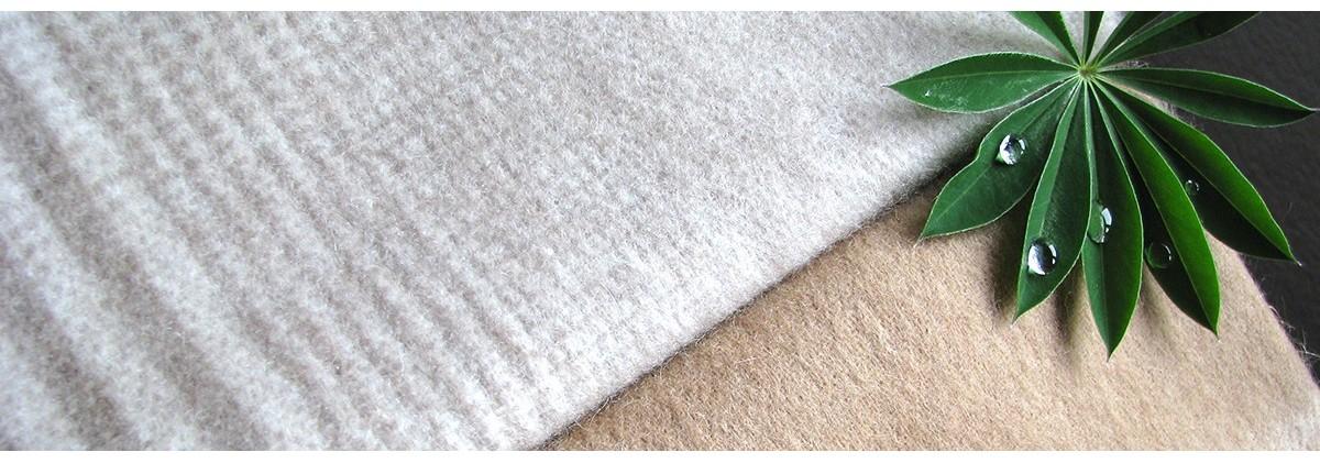 Linge de maison en lin ou coton organique